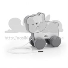 Игрушка каталка PolarB Белый медведь
