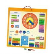 Магнитный календарь Viga Toys на украинском языке