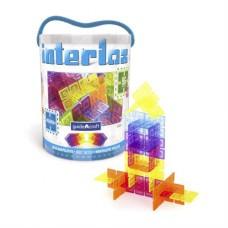 Конструктор Interlox Squares Квадраты 96 деталей