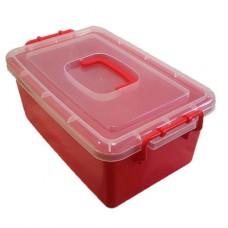 Контейнер пластиковый большой Gigo красный