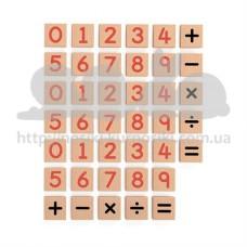 Набор Магнитные цифры и знаки 40 шт