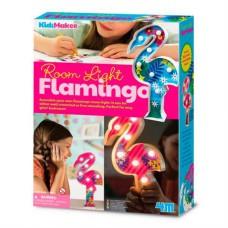 Набор для творчества 4M Подсветка Фламинго
