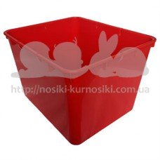 Контейнер пластиковый открытый Gigo красный