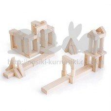 Набор строительных блоков Unit Blocks 56 шт