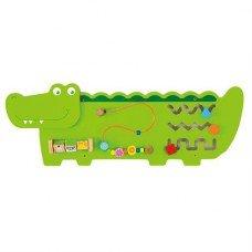 Бизиборд настенный Крокодил