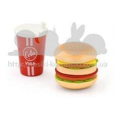 Игровой набор Гамбургер и кола