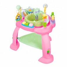 Игровой развивающий центр Hola Toys Музыкальный стульчик розовый 696-Pink