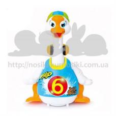 Игрушка Hola Toys Танцующий гусь 828-blue
