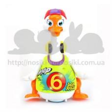 Игрушка Hola Toys Танцующий гусь 828-green