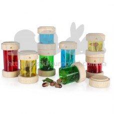 Набор Guidecraft Natural Play Сокровища в баночках разноцветный G3087