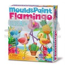 Набор для творчества 4M Лепные фламинго 00-04736