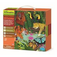 3D-пазл Тропический лес