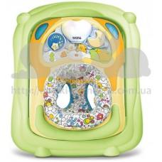 Ходунки На воздушном шаре с игрушкой салатный