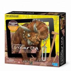 Набор для творчества ДНК динозавра Трицератопс