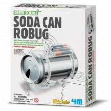 Набор для творчества Робот-жук из жестянки