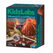 Набор для творчества Вулкан и кристаллы