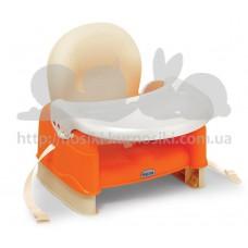 Стульчик-бустер для кормления EasyGo оранжевый