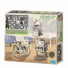 Набор для творчества Робот на солнечной батарее 3-в-1