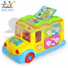Игрушка развивающая Школьный автобус