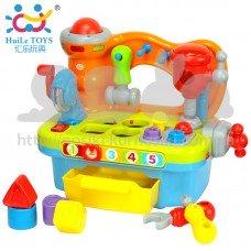 Игрушка развивающая Столик с инструментами