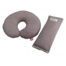 Дорожная подушка и накладка на ремень Eternal Shield серый