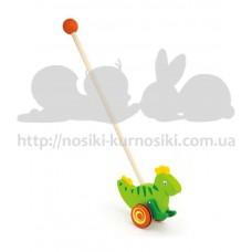 Игрушка-каталка Динозавр