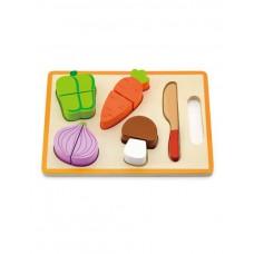 Игрушка развивающая деревянная Овощи