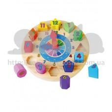 Игрушка развивающая Пазл Часы