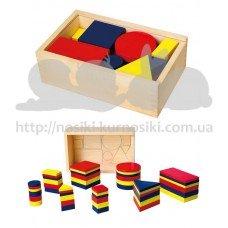 Набор для обучения Viga toys Логические блоки Дьенеша