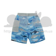 Шорты-подгузник для плаванния I Play Blue Whale League 12мес