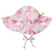 Солнцезащитная панамка I Play Light Pink Dragonfly Floral 9-18 мес