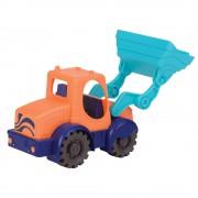 Машинка для игры с песком Battat Мини экскаватор мандарин-океан BX1440Z