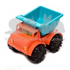 Машинка для игры с песком Battat Мини самосвал папайя-океан BX1439Z