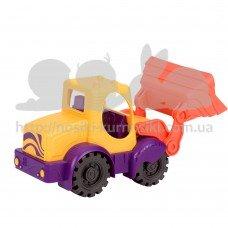 Машинка для игры с песком Battat Мини экскаватор манго-томат BX1420Z