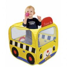Игровой домик с шариками Школьный автобус