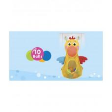 Игрушка для купания голодный пеликан