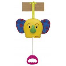 Игрушка подвеска музыкальная Веселый слоник