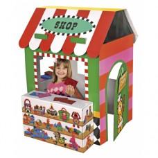 Детский игровой домик Веселый магазинчик размеры 90x120x80 см