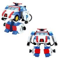 Робот трансформер Поли астронавт 10 см