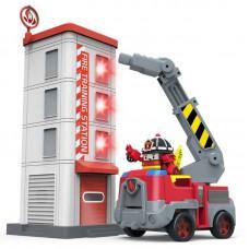 Игровой набор Пожарная станция с фигуркой Рой