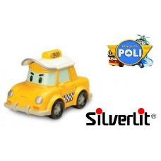 Машинка Кап такси металлическая Robocar Poli Silverlit