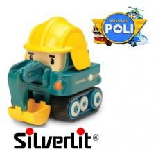 Машинка Поки металлическая Robocar Poli Silverlit