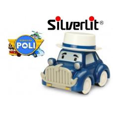 Машинка Мусти ретро металлическая Robocar Poli Silverlit