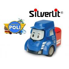 Машинка Пости почтовая металлическая Robocar Poli Silverlit