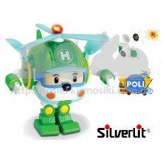 Трансформер Хели с подсветкой Robocar Poli Silverlit