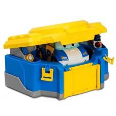 Набор трансформер Поли с гаражом 12 см Poli Robocar