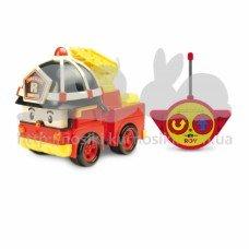 Пожарная машина на радиоуправлении Рой 15 см Robocar Poli