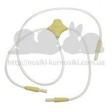 Силиконовый капилляр патрубок для молокоотсоса Medela Freestyle с регулятором на 2 груди