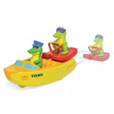 Игрушка для купания Крокодил на водных лыжах