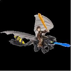 Всадник Иккинг и Беззубик в новом снаряжении Как приручить дракона